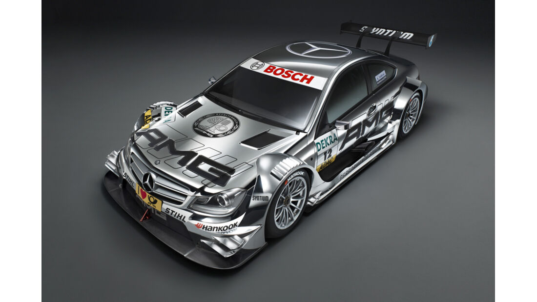 Mercedes DTM C-Coupé IAA 2011