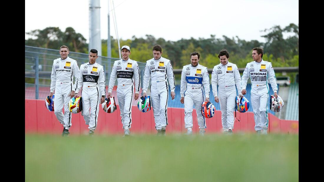 Mercedes DTM-Piloten 2014