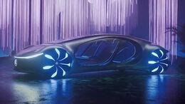 Mercedes Daimler Avatar CES 2020 Vision Avtr