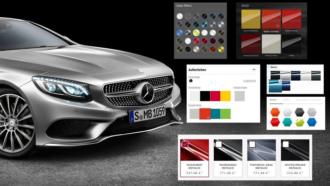 Mercedes Designo Lack Farben Hersteller