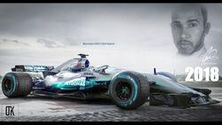Mercedes - Designstudie - Concept - Shield - 2018