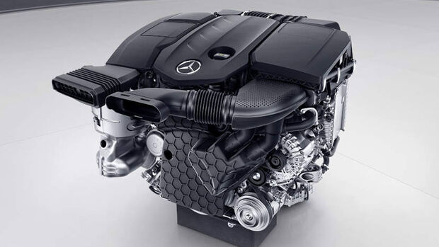 Mercedes Dieselmotor OM 654