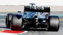 Mercedes - Diffusor - F1-Test - Barcelona - 2020