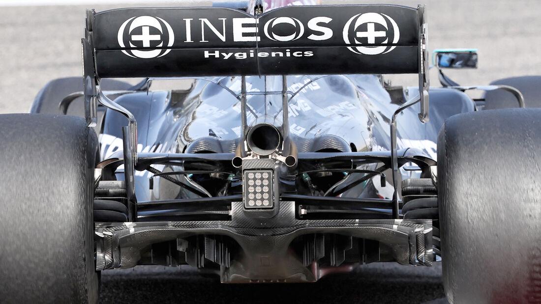 Mercedes - Diffusor - Formel-1-Test - Bahrain - 2021