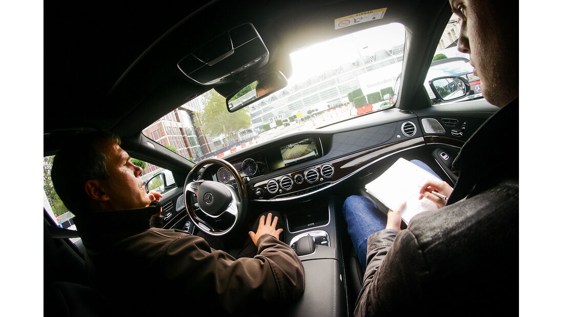 Mercedes Driving Experience IAA 2013
