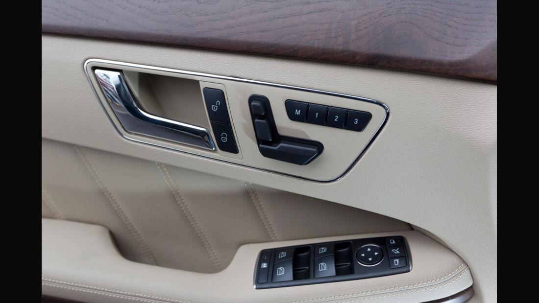 Mercedes E 200 CDI T Elegance, Detail, Türinnenseite, Armlehne