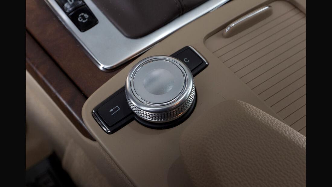 Mercedes E 200 CDI T Elegance, Infotainment-Bedienung, Detail, Knopf