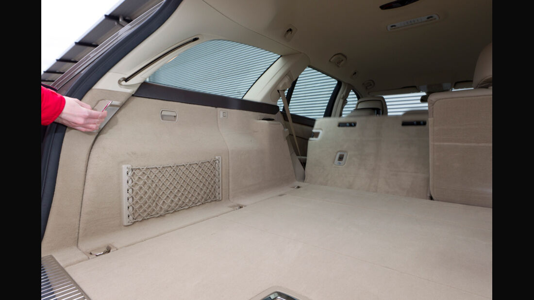 Mercedes E 200 CDI T Elegance, Kofferraum, Laderaum, Rückbank umgeklappt