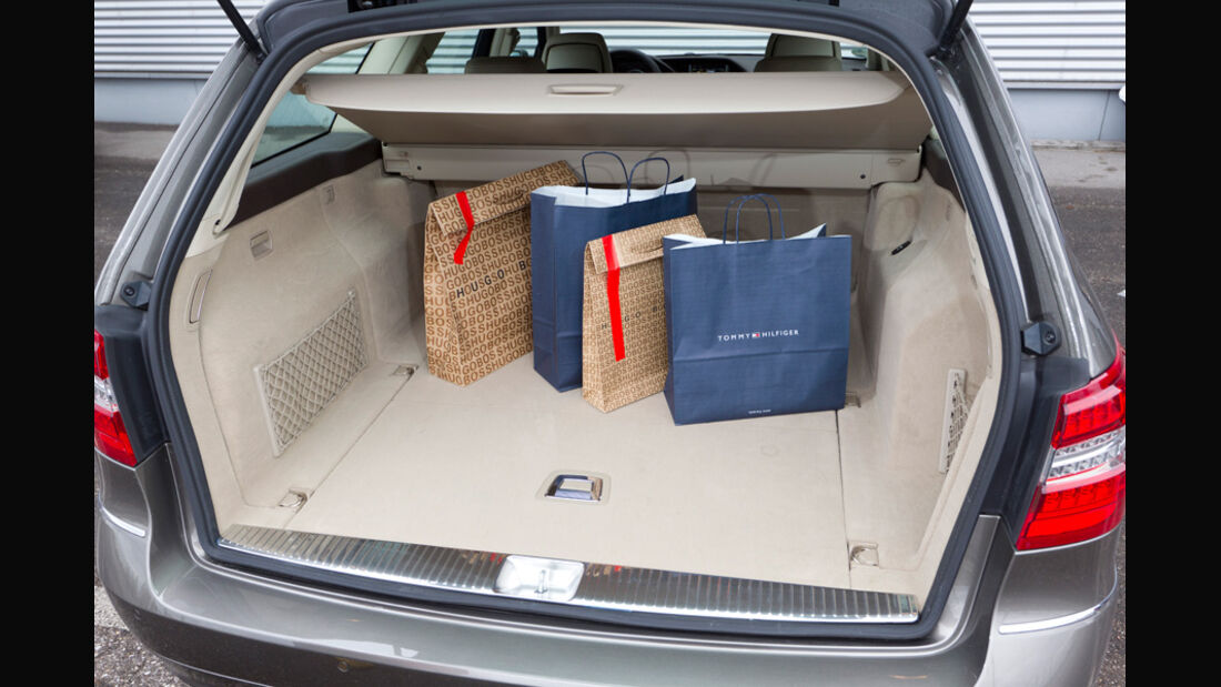 Mercedes E 200 CDI T Elegance, Kofferraum
