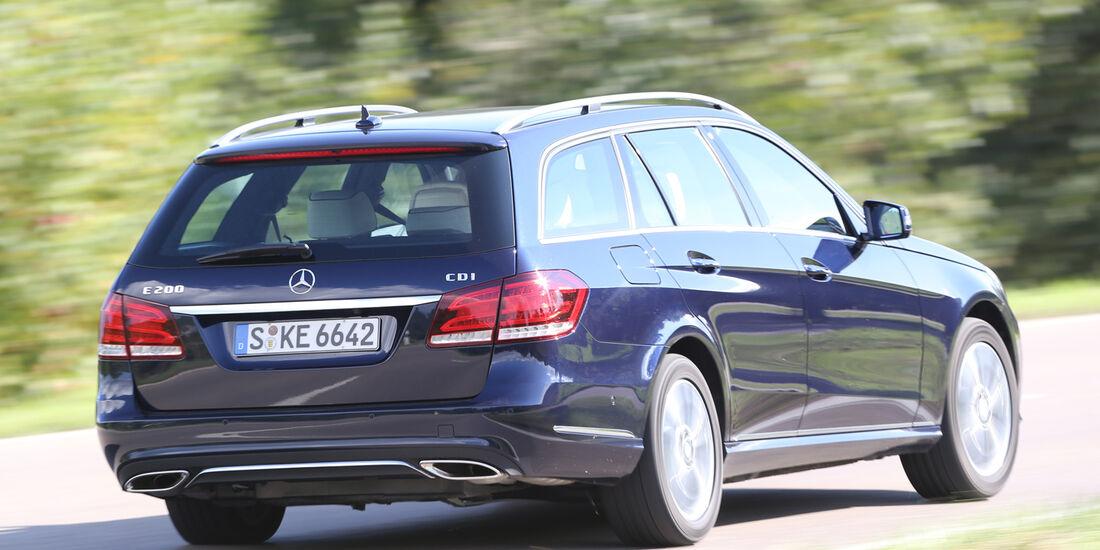 Mercedes E 200 CDI T, Heckansicht