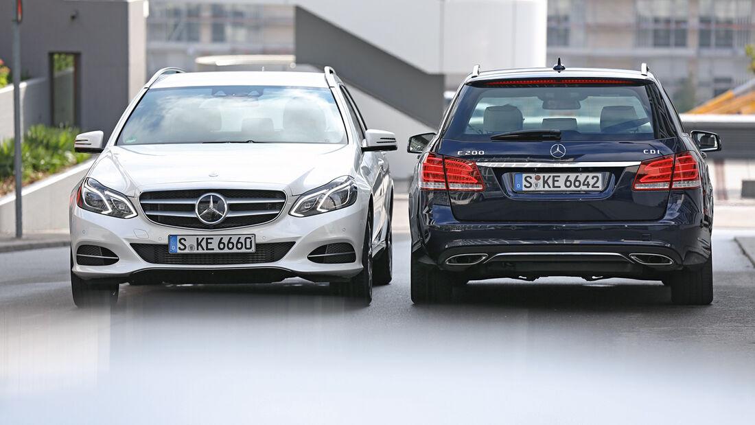 Mercedes E 200, Mercedes E 200 CDI T