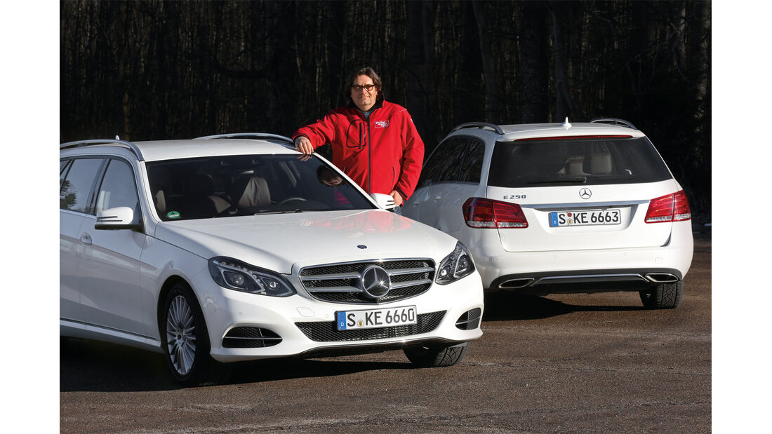 Mercedes E 200, Mercedes E 250, Fazit, Heinrich Lingner