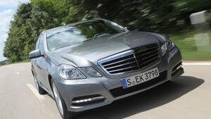 Mercedes E 200 NGT, Frontansicht