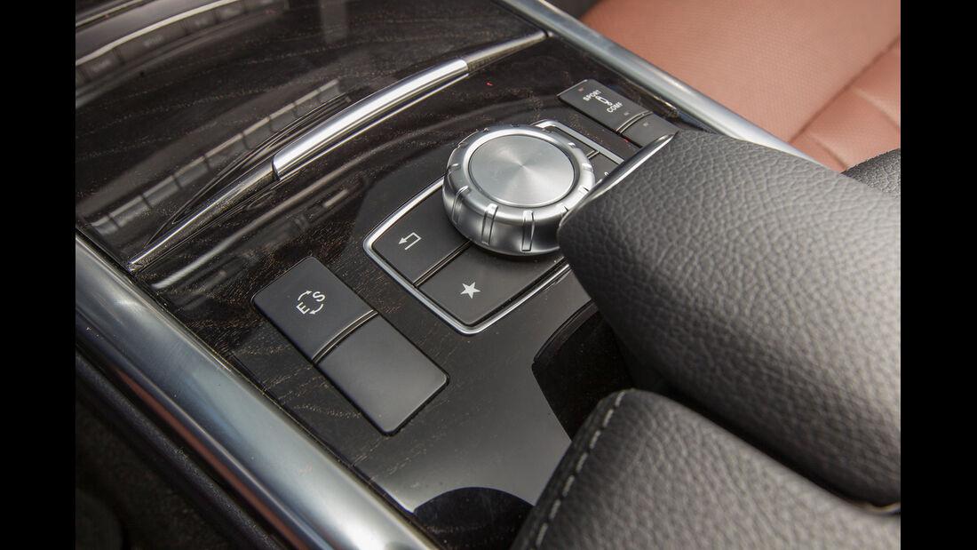 Mercedes E 200 T, Bedienelemente