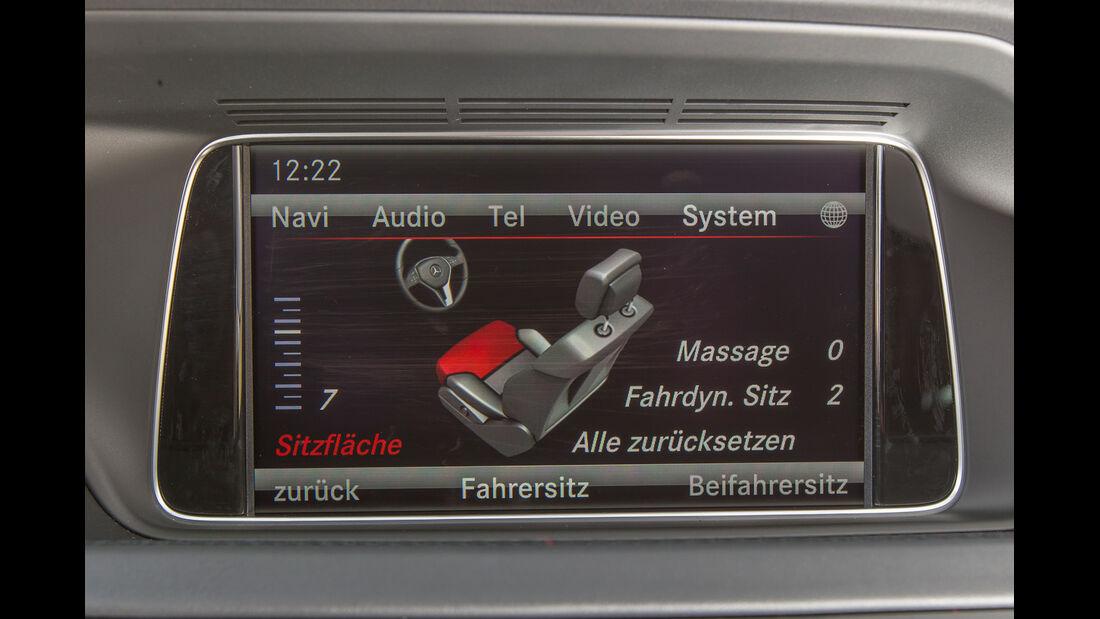 Mercedes E 200 T, Display, Bordcomputer