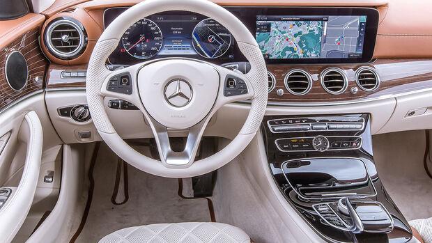 Mercedes E 200 T Interieur