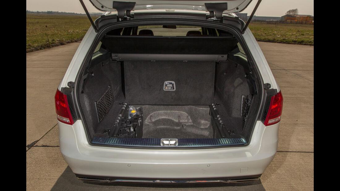 Mercedes E 200 T, Kofferraum