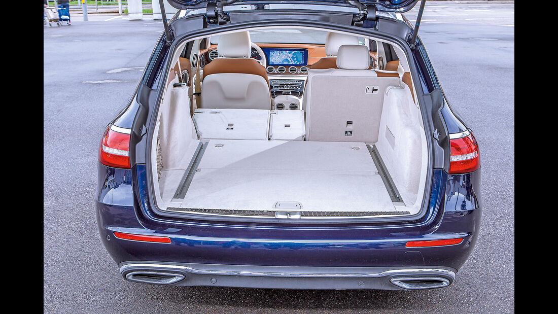 Mercedes E 200 T Kofferraum