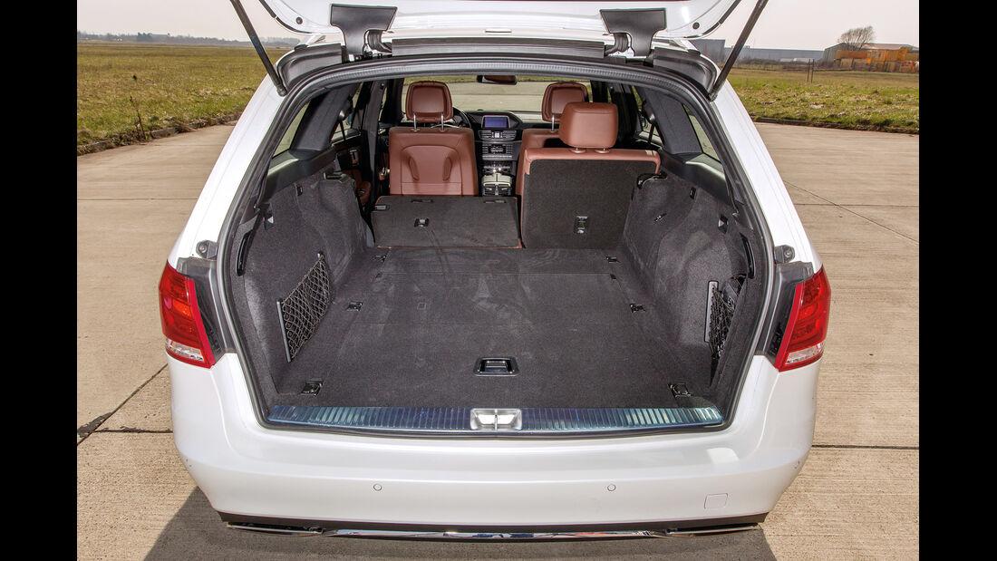 Mercedes E 200 T, Ladefläche