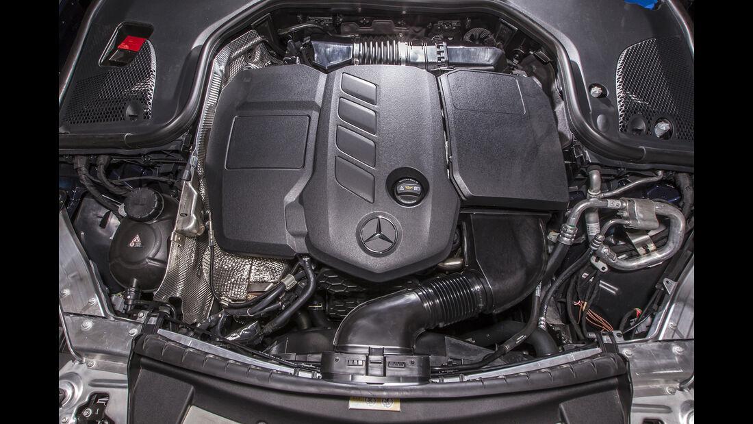 Mercedes E 200 T Motor