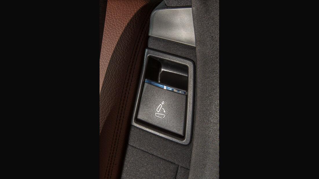Mercedes E 200 T, Sitz, Umklappen