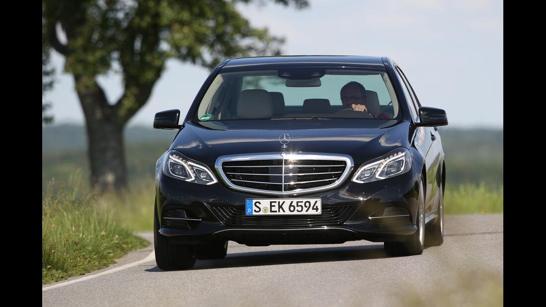 Mercedes E 220 Bluetec, Frontansicht