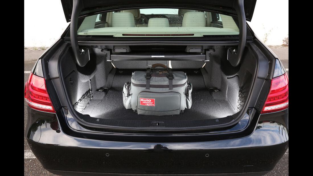 Mercedes E 220 Bluetec, Kofferraum