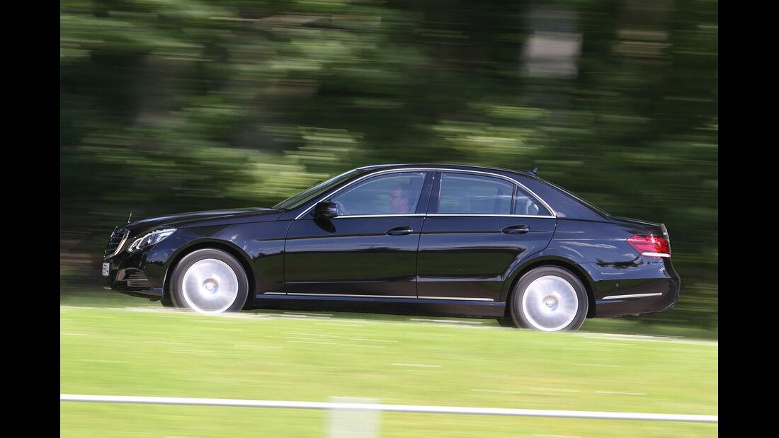 Mercedes E 220 Bluetec, Seitenansicht