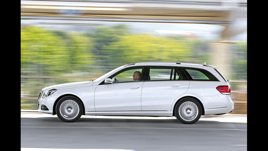 Mercedes E 220 Bluetec T, Seitenansicht