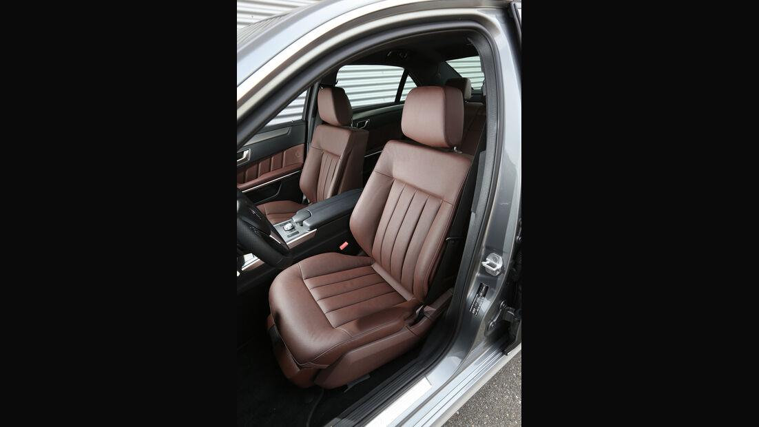 Mercedes E 220 CDI, Fahrersitz