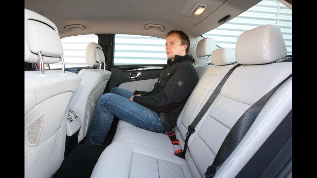 Mercedes E 220 CDI, Fond