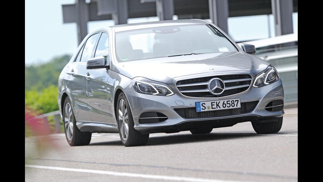 Mercedes E 220 CDI, Frontansicht