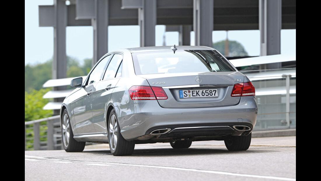 Mercedes E 220 CDI, Heckansicht