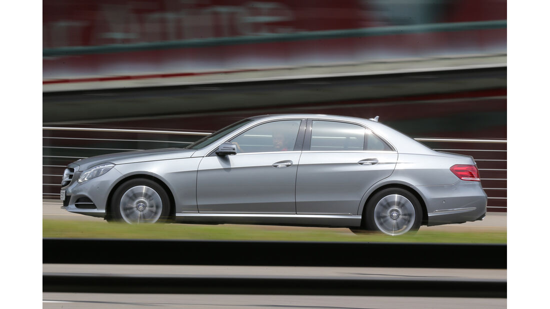 Mercedes E 220 CDI, Seitenansicht