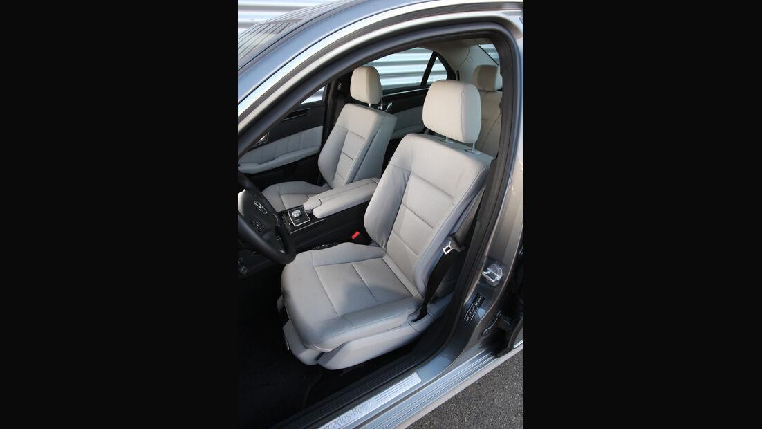 Mercedes E 220 CDI, Sitze