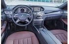 Mercedes E 220 T Bluetec, Cockpit