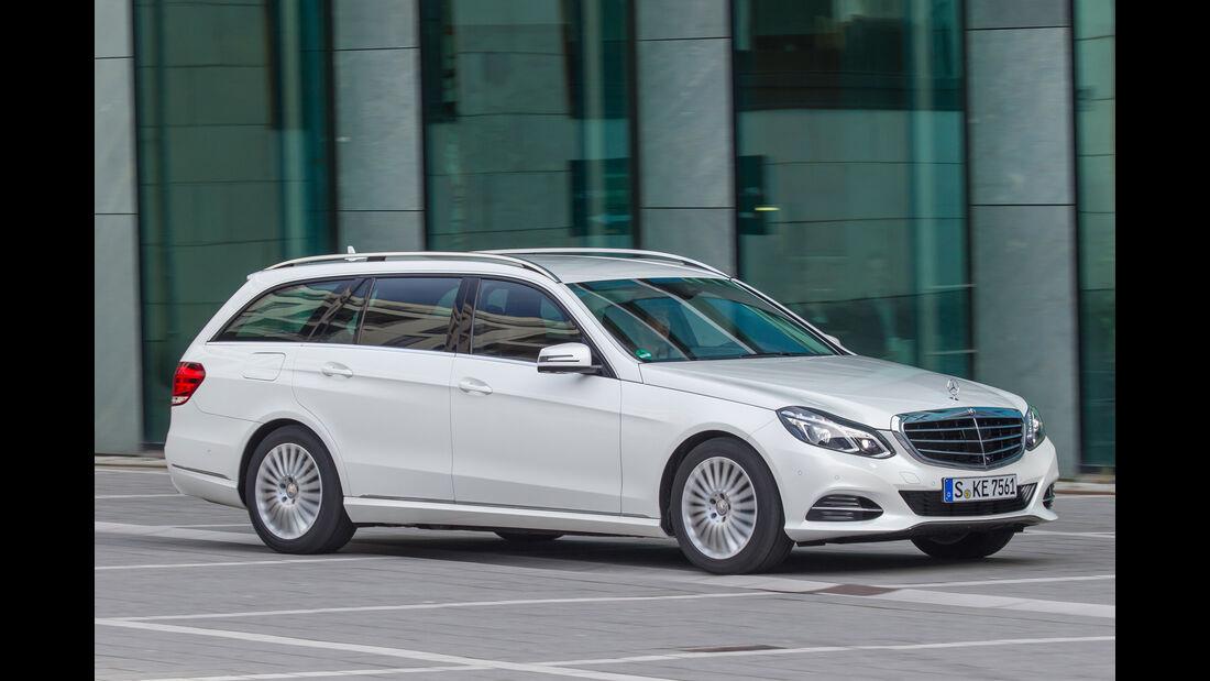 Mercedes E 220 T Bluetec, Frontansicht
