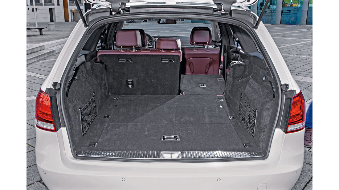 Mercedes E 220 T Bluetec, Kofferraum