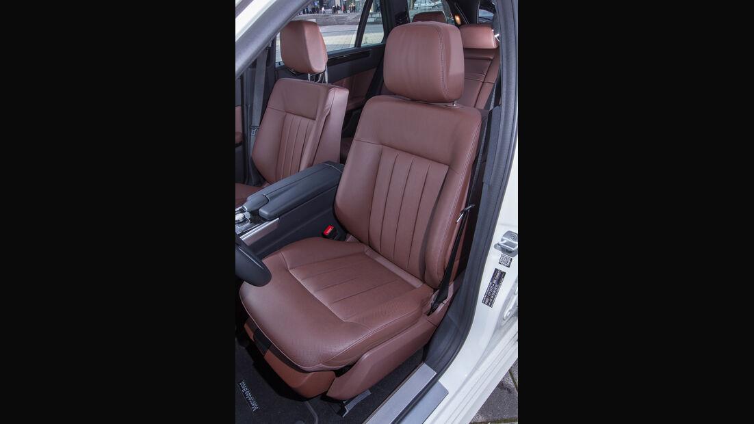 Mercedes E 220 T Bluetec, Sitze