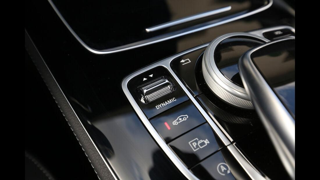 Mercedes E 220 d 4Matic, Bedienelemente