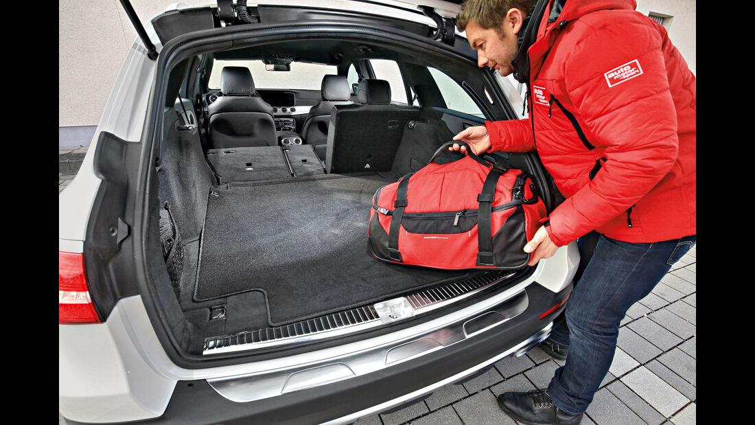 Mercedes E 220 d 4Matic, Kofferraum