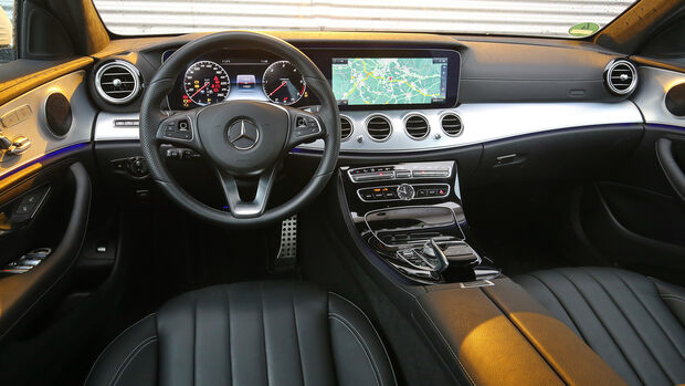 Mercedes E 220 d All-Terrain 4Matic, Interieur