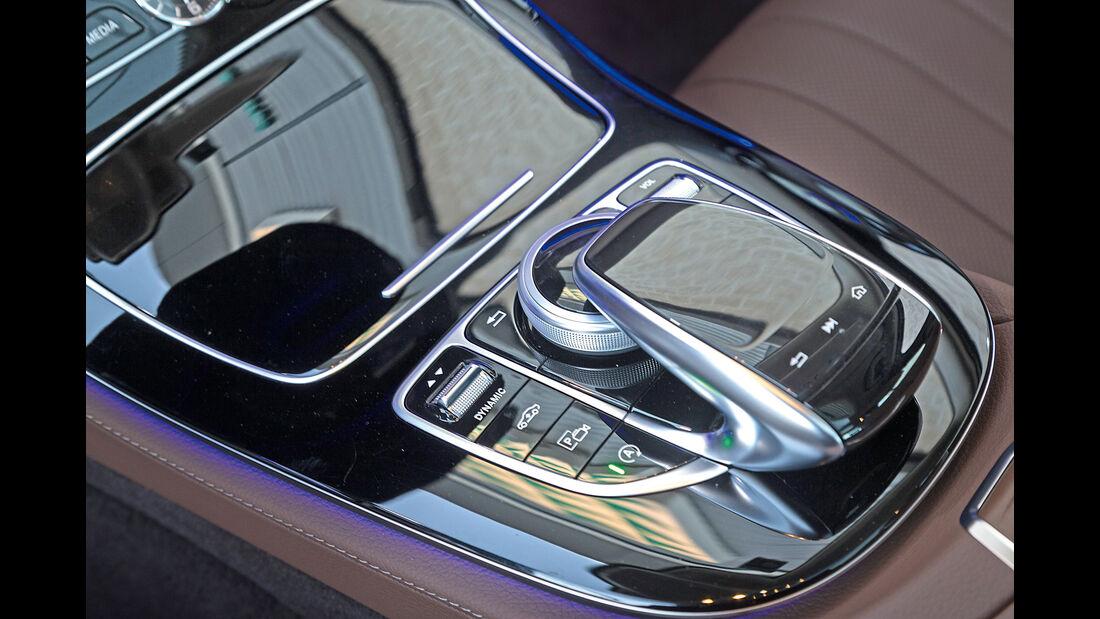 Mercedes E 220 d, Bedienelement