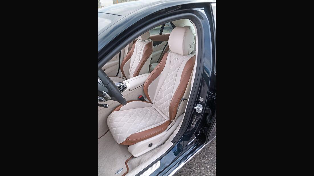 Mercedes E 220 d, Fahrersitz