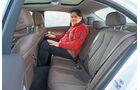 Mercedes E 220 d, Fondsitze