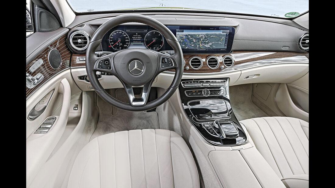 Mercedes E 220 d, Interieur