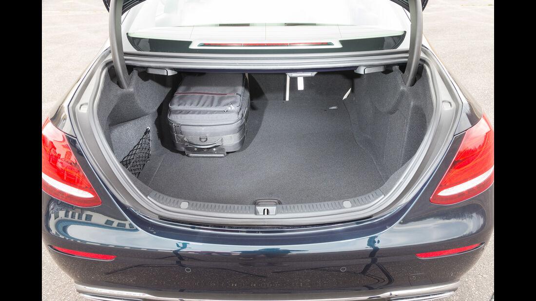 Mercedes E 220 d, Kofferraum
