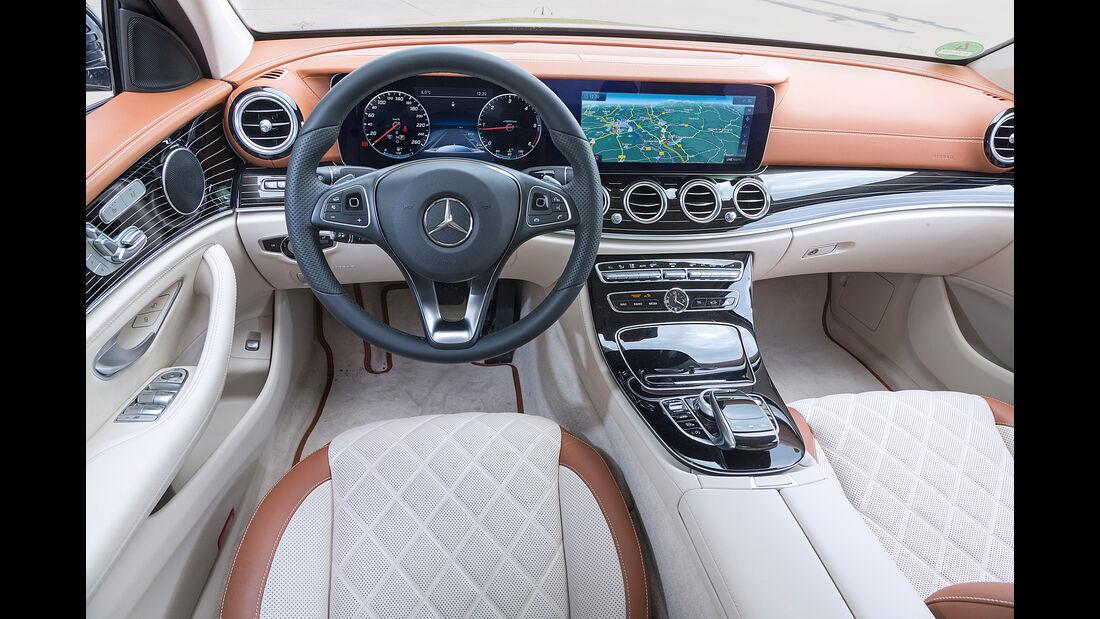 Mercedes E 220 d, Rundinstrumente