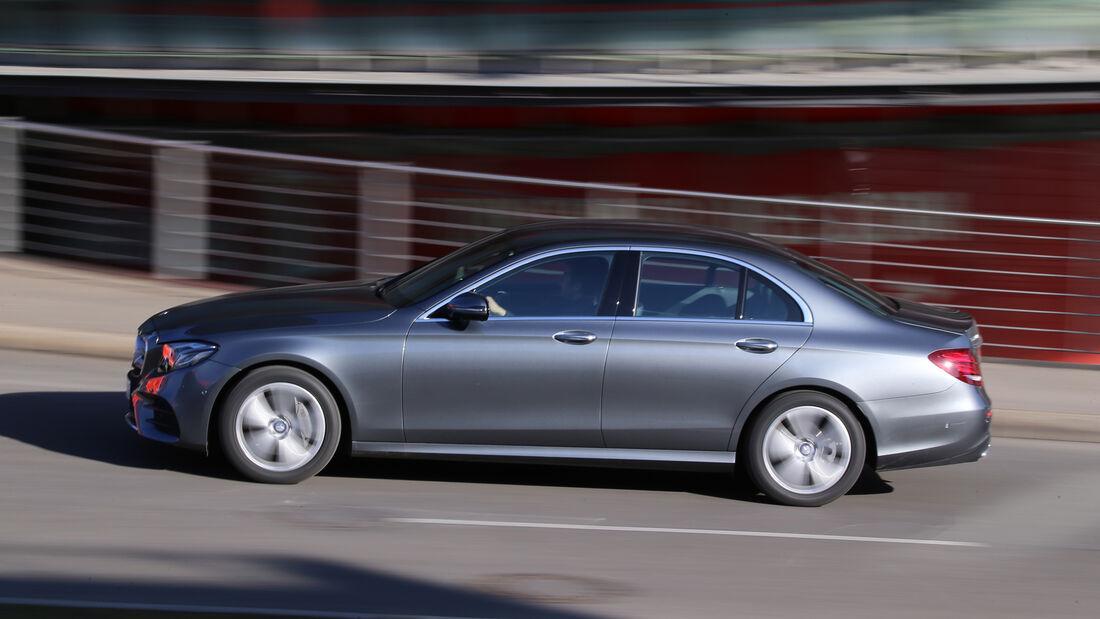 Mercedes E 220 d, Seitenansicht