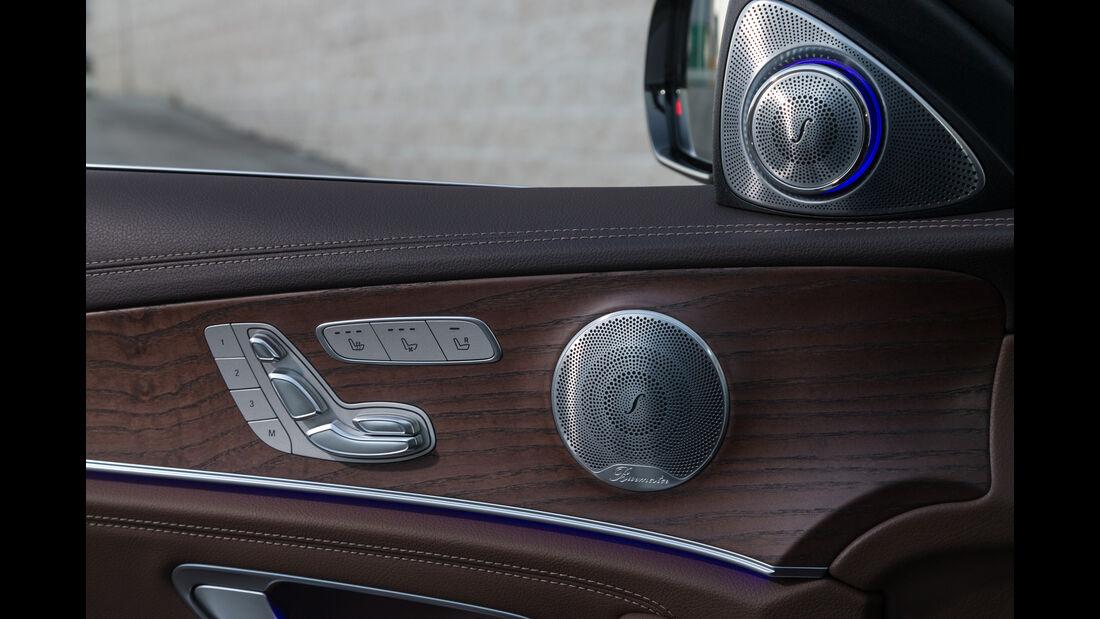 Mercedes E 220 d, Sitzverstellung
